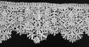 17th century English needle lace no 1.