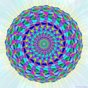 the Spiritual Energy Mandala series