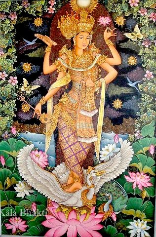 Mother Divine Ma Saraswati Devi