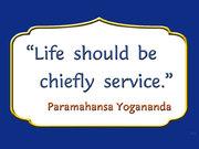 Shri Shri Paramahansa Yogananda Ji's quote