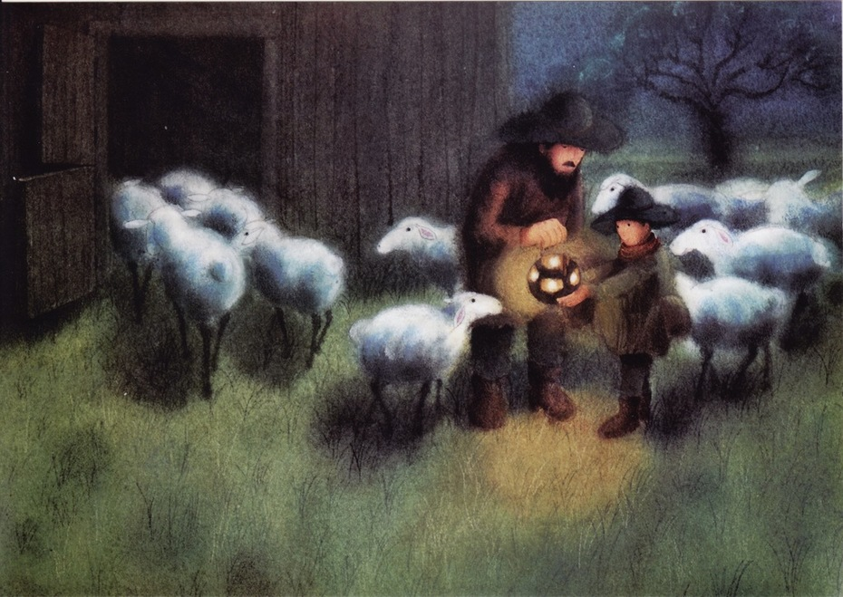 """The four Lights of the Herdsman Simon"""