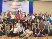 Action Asia Peace Building Leaders, Yangon, Myanmar, October, 2014