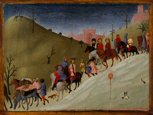 The Journey of the Magi (fragment), ca. 1435