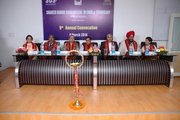 On the dais of ninth convocation of SUSCET Mohali, Punjab
