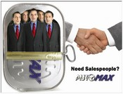 Where oh where can the salespeople be ,oh where oh where could they be?