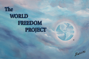 The WORLD FREEDOM PROJECT FLAG