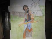 Pow Wow sketch