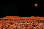 Red Asteroid, Table Mesa