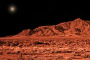 Red Asteroid, Florida Mountains