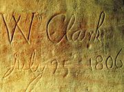 Clark-mark-at-Pompeys-Pillar