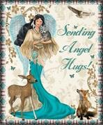 Native American Angel Sending Hugs