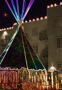 Tipi & Christmas Luminaries
