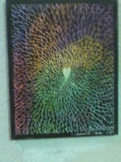 My abstract art flower I made..