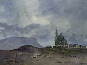 Classiebawn Castle_evening_190509