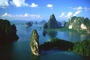 Sailing in Thailand