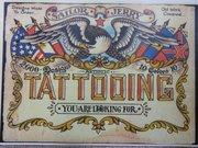 Navy Sailors Tattoo Shop