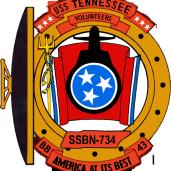 USS Tennessee SSBN 734