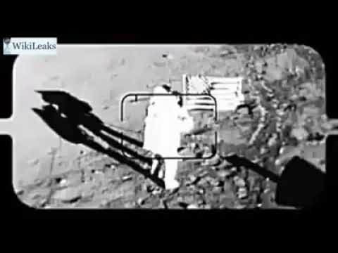 Wikileaks releases unused footage of moon landing