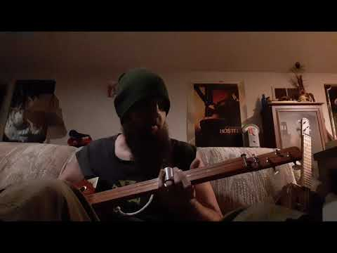 3 String Cigar Box Guitar - Freestyle Blues