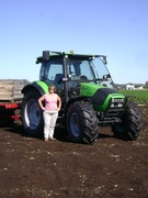 Avia & her new Deutz