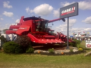 Case IH Displayed at Canada's Outdoor Farm Show 2011