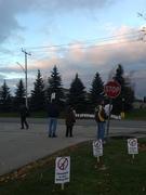 Wind Turbine Protest/ Premier Kathleen Wynne Visit/Liberal Fundraiser