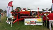 NEW Vaderstad Seed Hawk Tempo F8 Corn Planter at the Outdoor Farm Show
