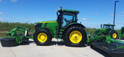 New John Deere Triple Mower Conditioner Introduced.