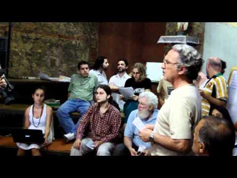 """11/05/2012 CTO Reunião GT de Cultura e Comunicação da Cúpula dos Povos """" RIO+20 """""""