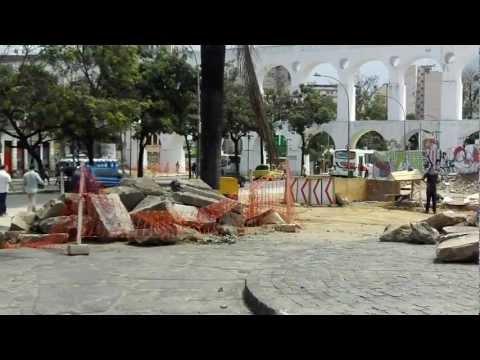 """LAPA RIO """" a OBRA que NÃO ACABA """""""