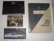 Original owner's manuals and shop manual
