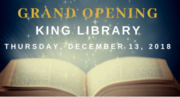 Grand Opening at The Society of The Four Arts King Library