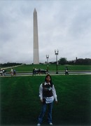 Monument in Washington DC, USA in 1998