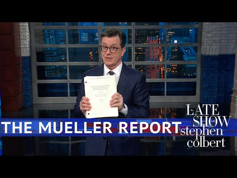 Trump Obstruction of Justice Mueller Report