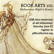 Book Arts 101: Midsummer Night's Dream
