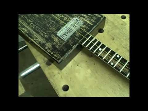 - Indian Tobacco - 3  String Cigar Box guitar