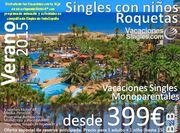 VACACIONES PARA SINGLES CON HIJOS en HOTEL PLAYASOL ROQUETAS
