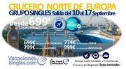 Crucero Norte Europa Septiembre 2016 Vacaciones Singles