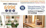 Precio Camarote Cuadruple Crucero Norte Europa Septiembre 2016 Vacaciones Singles