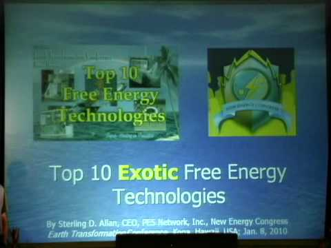 Top 10 Exotic Free Energy Technologies