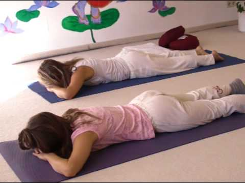 Relaxation Postures on your Abdomen