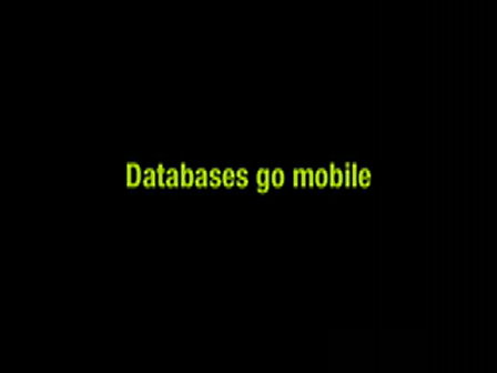 Databases go mobile