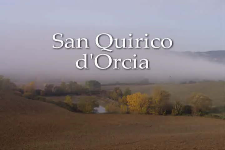San Quirico in Tuscany