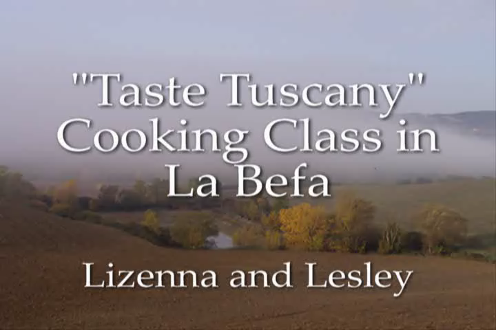 """""""Taste Tuscany"""" Cooking Class"""