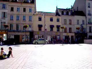 Market Square of St. Germain-en-Laye