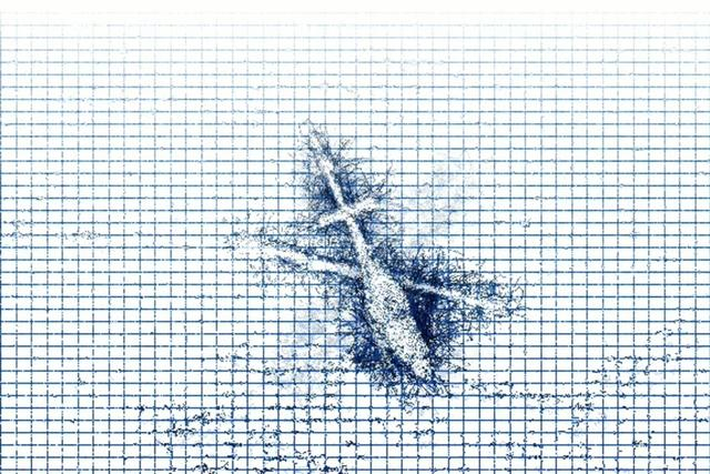Graph Paper Grid Perturbations (Christmas in Afghanistan)