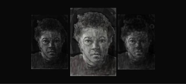 Self portrait Motion study.