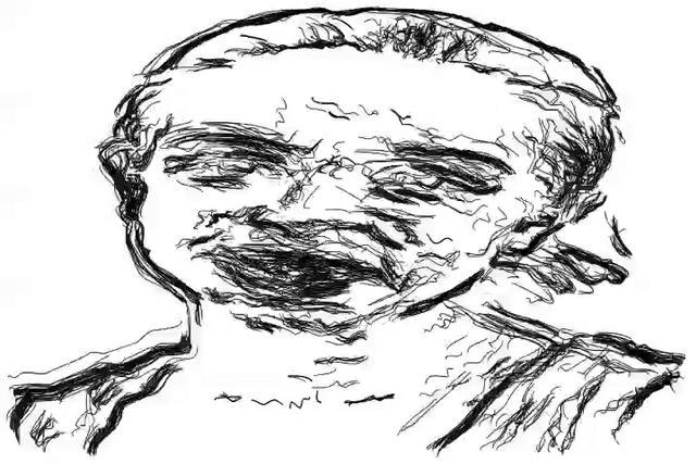 Edge Sketch Bezier Tween Animation