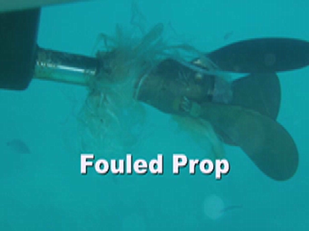 Fouled Prop