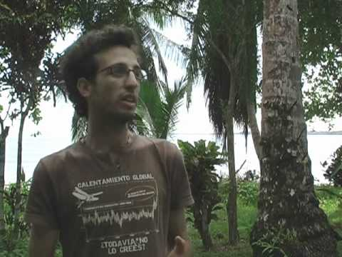 Permaculture Documentary Costa Rica: Part 5 - An Interview with Itai (1 of 2)